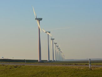 socially responsible investing in a wind farm